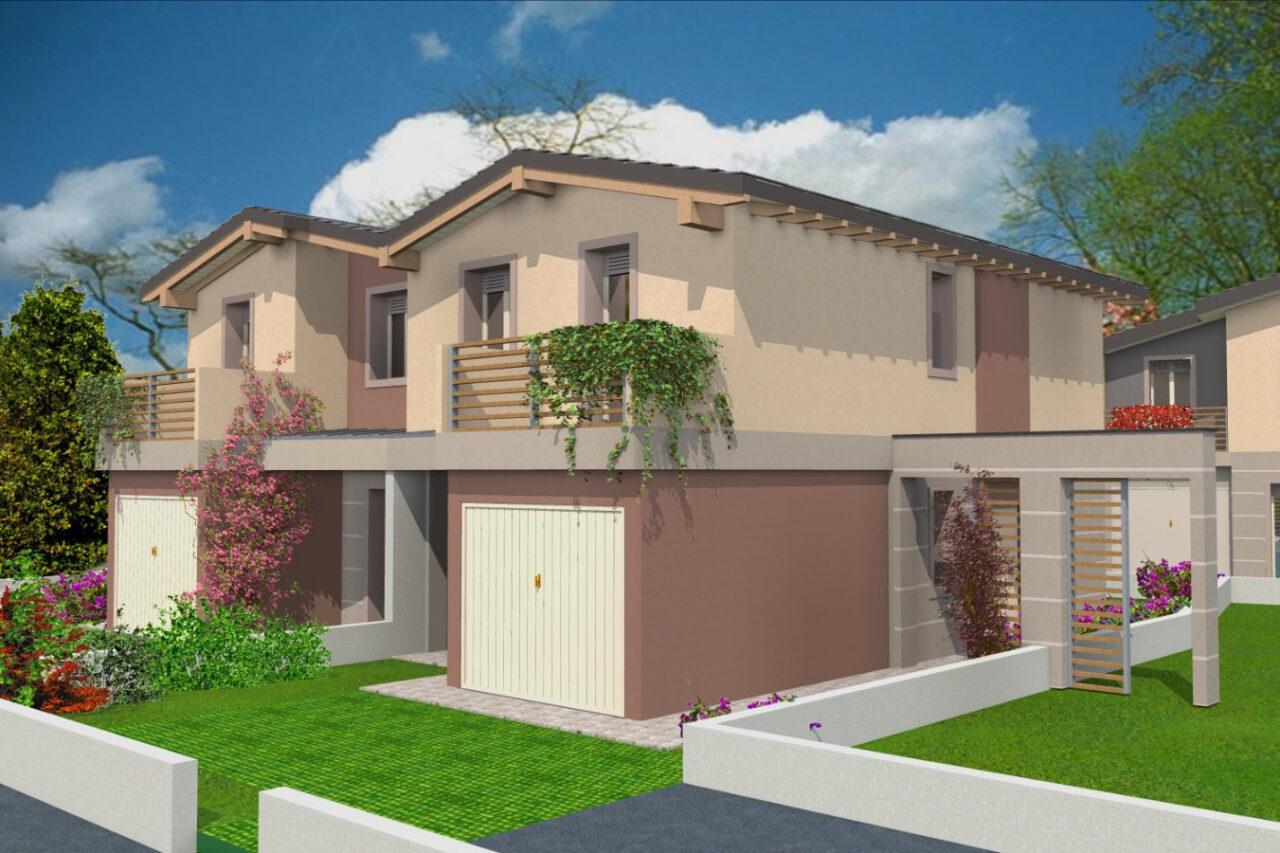 Villa bifamiliare Tavazzano con Villavesco